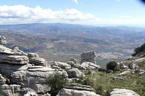 Rock, Rock Formation, El-torcal-antequera, Andalusia