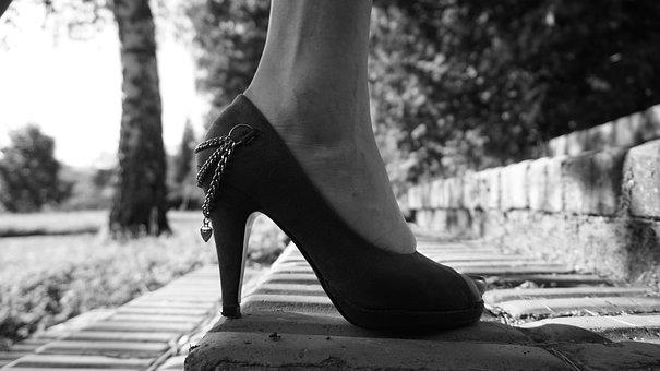 High Heels, Shoes, Girl, Female, High, Elegant, Sexy