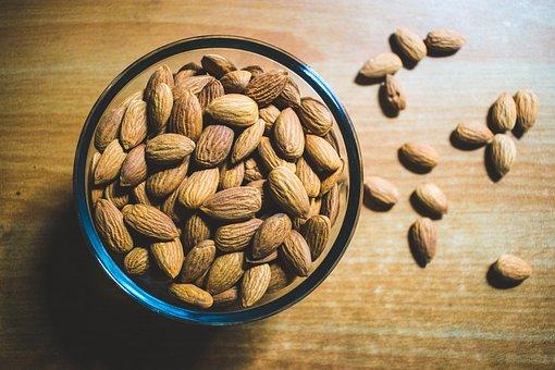 Almond, Dry Fruits, Health, Healthy Food, Fibre, Energy