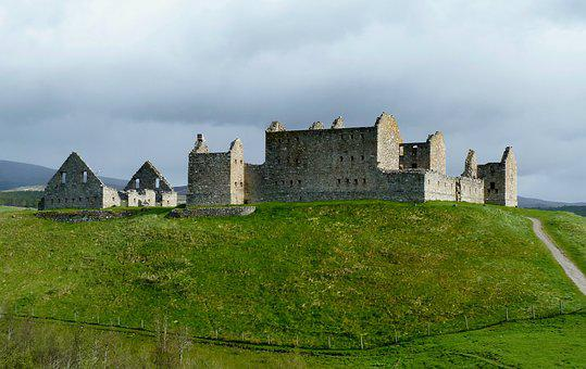 Castle, Hill, Fortress, Panorama, Medieval