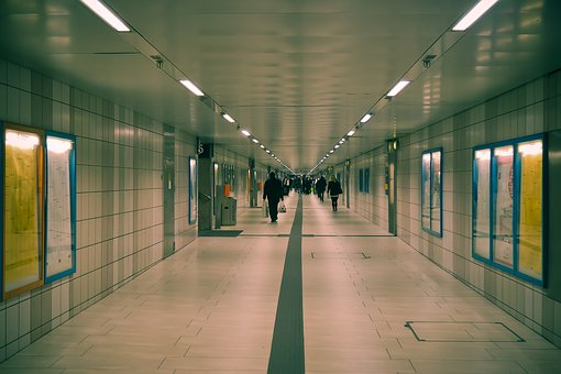 Gang, Railway Station, Architecture, Building, Passage