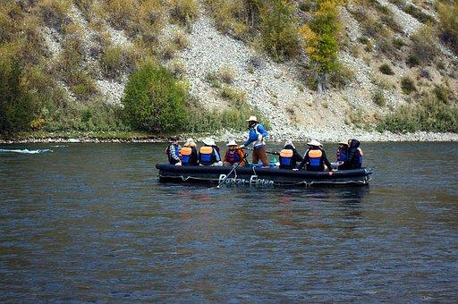 Snake River Floating, Raft, Snake, River, Grand, Teton