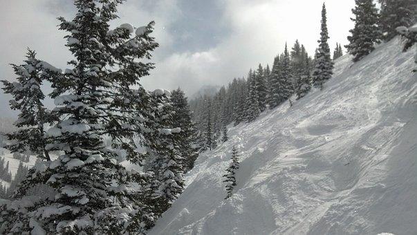 Steep And Deep, Grand Targhee, Snowpacked Peaks