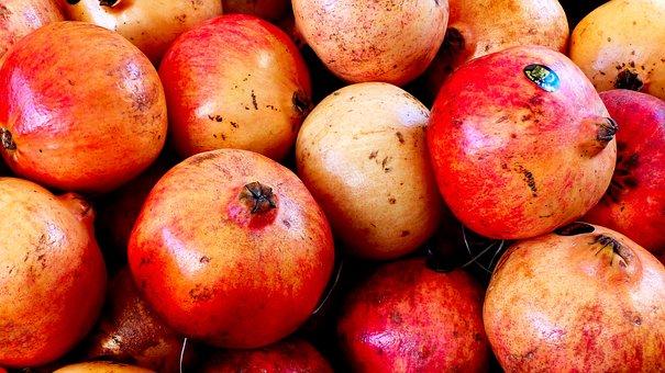 Fruit, Grenades, Colors, Vitamins, Health, Delicious