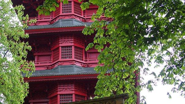 Pagoda, Japan, Architecture, Palace, Royal