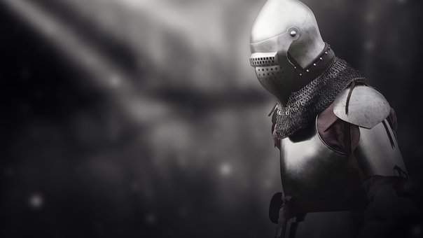 Knight, Middle Ages, Background, Armor, Helm, History