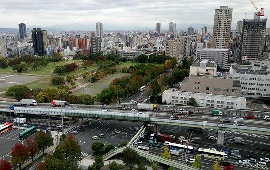 Osaka, Japan, Naniwanomiyaato, Naniwanomiyaato Park