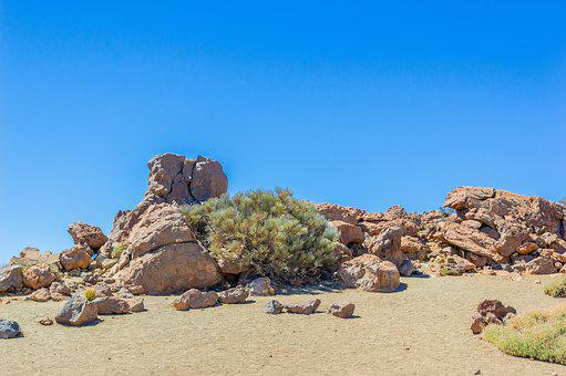 Sand, Rocks, Sky, Travel, Nature, Landscape, Summer