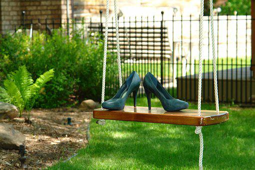 Shoes, Swing, Outdoors, Heels