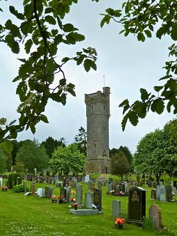 Ruins, Cemetery, Medieval, Monument, Peaceful