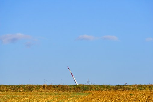 Rotor Blade, Pinwheel, Power Generation, Sky