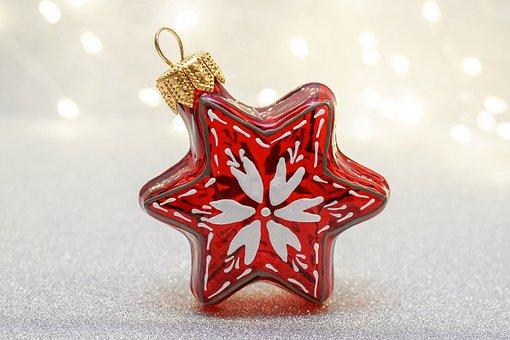 Christmas, Christmas Decorations, Poinsettia