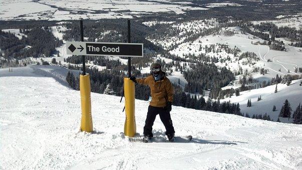 Grand Targhee, Snowpacked Peaks, Powder Skiing