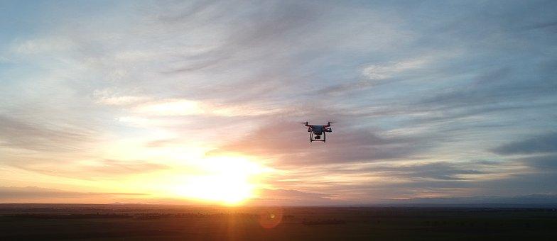 Drone, Phantom 3, Sky, Morgenstimmung