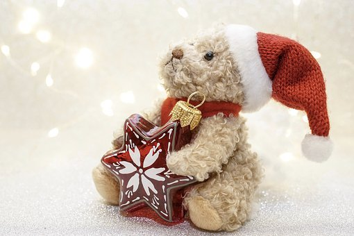 Christmas, Advent, Teddy, Teddy Bear, Bear, Nicholas
