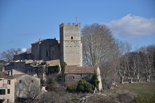 Verdon, Castle, Chateau, French Countryside