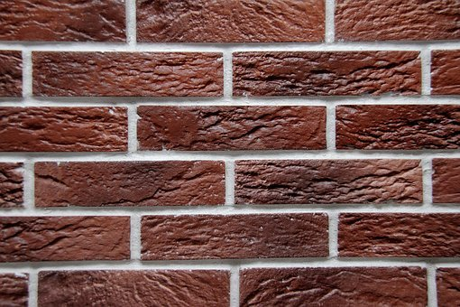 Brick, Wall, Red, Texture, Pattern, Building, Cement