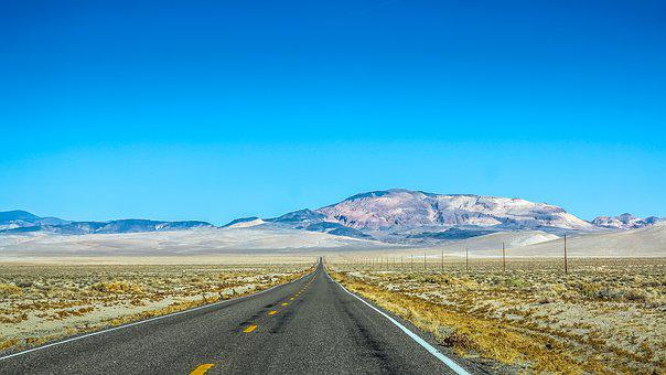 Way, Nevada, Usa, Landscape, Desert, Travel, America