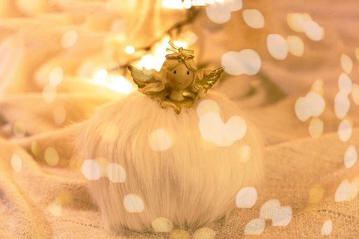 Angel, Princess, Decoration, Lighting, Christmas, Deco