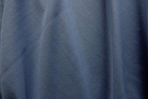 Fabric, Folds, Color, Blue, Background, Photoshop