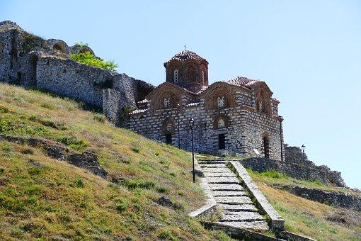 Church, Berat, Albanian, Balkans