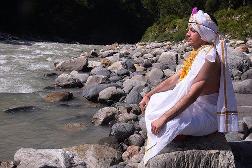 Meditation, Ganga, Stefano, Brahmachari Ananta Sharma