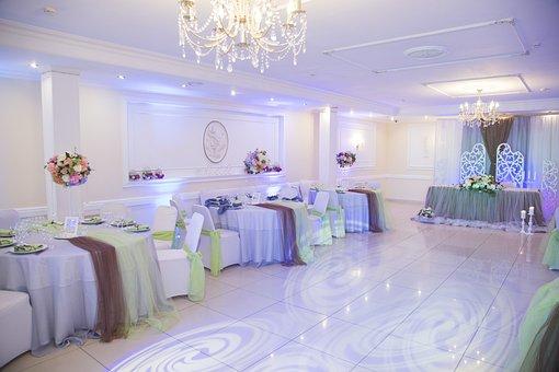 Hall, Banquet, Wedding, Interior, Room, Building