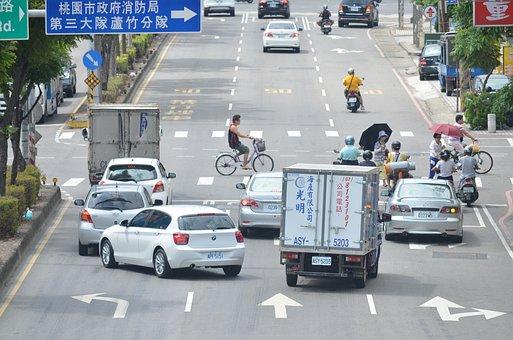 Traffic, Car, Road, City, Urban, Vehicle