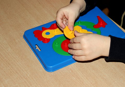 Jigsaw Puzzle, Elements, Styling, Children, Fun, Toys