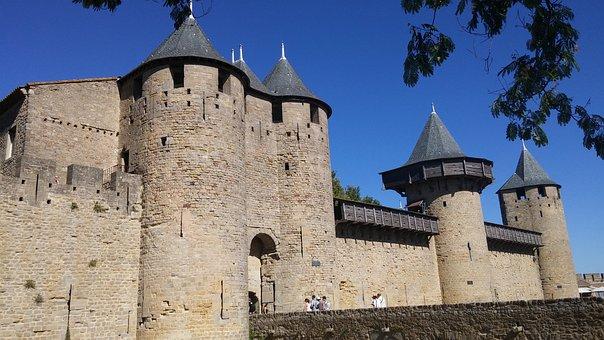 Castle, France, Citadel, Architecture, Monument