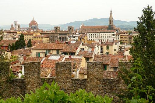 Italy, Architecture, Panorama, City