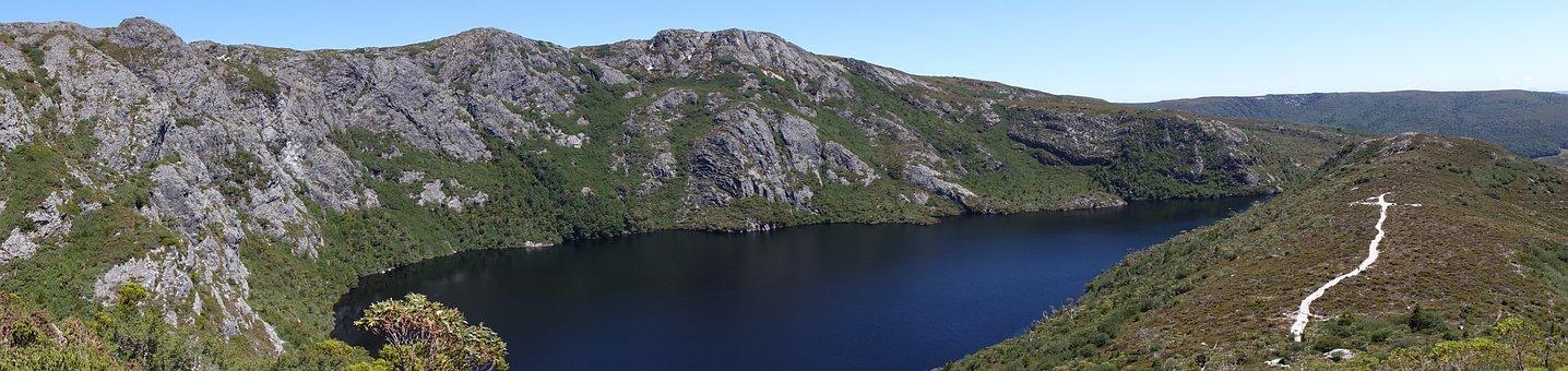 Tasmania, Cradle Mountain, Mountain Panorama, Landscape