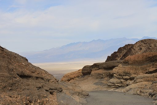 National Park, Usa, Death Valley, Canyon, Rock