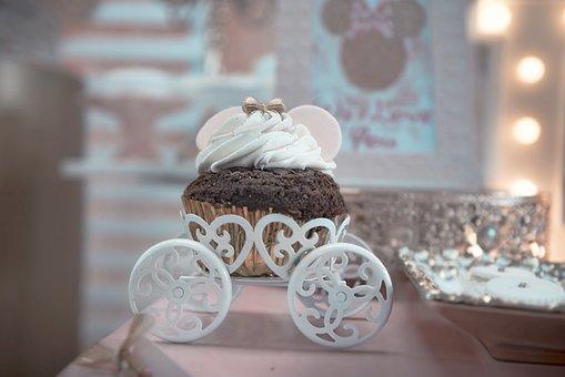 Decoration, Tables, Cupcake, Ornaments, Details