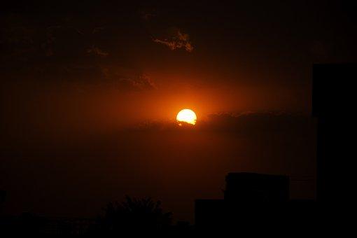 Sunset, Nature, Landscape, Evening, Sky, Outdoor