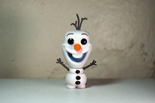 Snow, Man, Male, Olaf, Disney, Film, Television