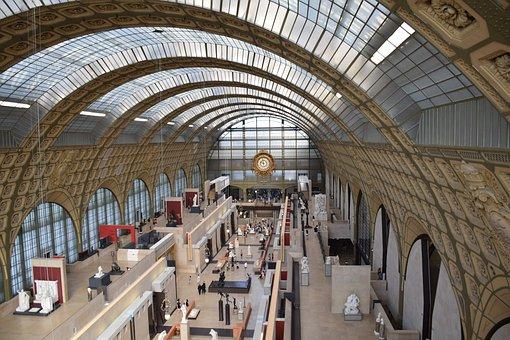 Orsay, Museum, Paris, France, Station, Capital