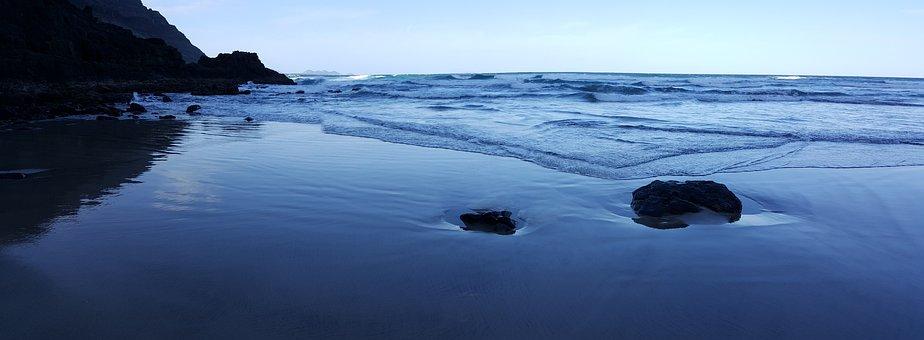 Sea, Ocean, Water, Beach, Sand, Holiday, Nature, Travel