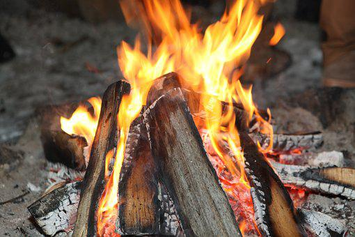 Fire, Wood, Fireplace, Burning, Hot, Energy, Grill
