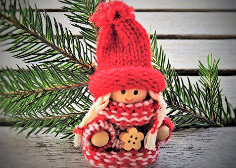 Christmas, Advent, Imp, Imp Wife, Baby Doll