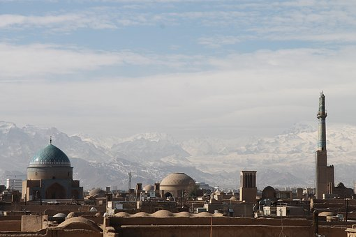 Iran, Silk Road, Orient, Mountains, Snow, Landscape