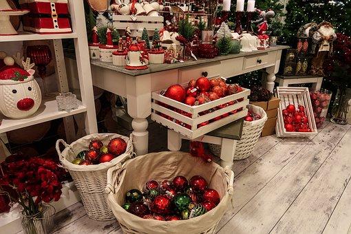 Christmas, Decoration, Balls, Figures, Jewellery