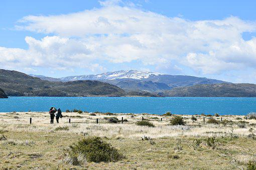 Patagonia, Torres Del Paine, National Park, Lake