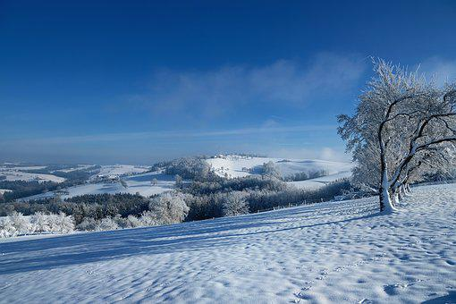 Landscape, Nature, Winter, Wintry, Snow, Vision