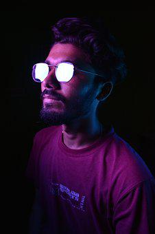 Portrait, Men, Person, Male, Human, Lighting, Colorfull