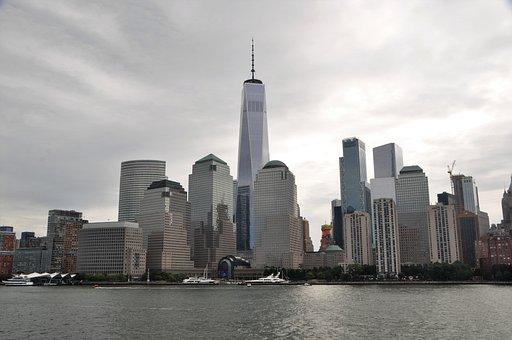New York, Skyline, Skyscraper, Manhattan, Panorama