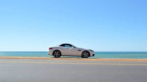 Merc, Car, Sportscar, Luxury, Vehicle, Mercedes