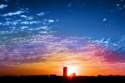 Sky, Cloud, Color, Sunset, Sun, Beauty, Nature, Harmony