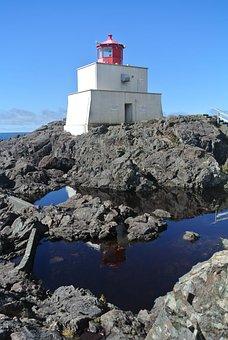 Lighthouse, Sea, Ocean, Sky, Coast, Landscape, Tower