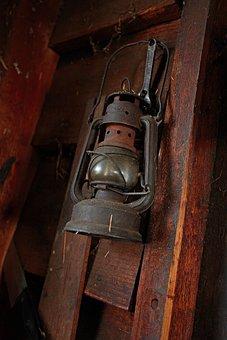 Oil, Lamp, Vintage, Light, Lantern, Antique, Old